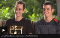 Jonny & Alistair Brownlee on World Triathlon Series drama
